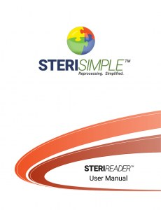 steriReader user manual cover