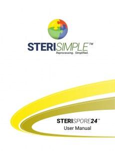 steriSpore24 user manual cover